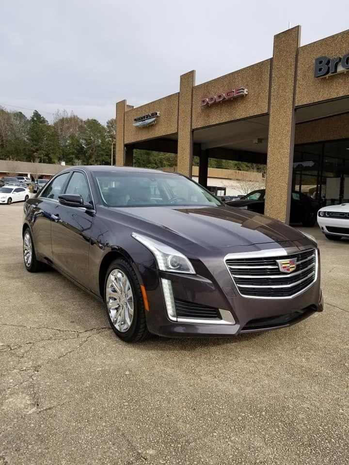 Pre-Owned 2015 Cadillac CTS Sedan RWD